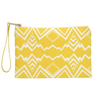 Elisabeth Fredriksson Wicked Valley Pattern Yellow Pouch