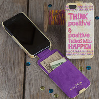 Phone Case Think Positive - Piace Boutique