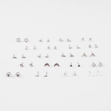 FULL TILT 20 Pairs Feather Arrow Stud Earrings | Earrings