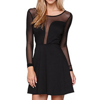LA Hearts Two Faced Fit N Flare Dress at PacSun.com