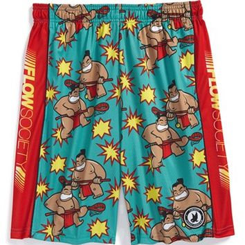 Boy's Flow Society 'Sumo Attack' Lacrosse Shorts,
