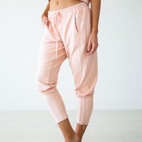 Free People Pink Power Joggers - Luca + Grae