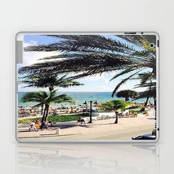 Ft. Lauderdale Beach   Photo Laptop & iPad Skin by Annette Forlenza