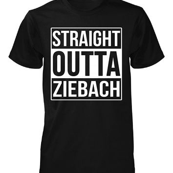 Straight Outta Ziebach County. Cool Gift - Unisex Tshirt