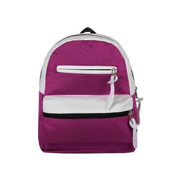 Casual canvas patchwork small rucksack high quality women clutch purse ladies famous brand shoulder bags school student backpack