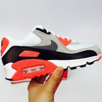 NIKE AIR MAX 90 men's tide brand sports shock absorber shoes  F