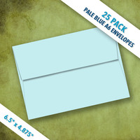 A6 Size PALE BLUE Envelopes | Pack of 25