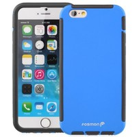 "Fosmon HYBO-SNAP Durable Full Body Protection Hybrid Case with Built-In Screen Protector for Apple iPhone 6/6s (4.7"") (Black)"