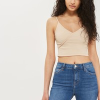 Wrap Crop Top | Topshop