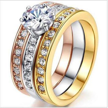ICIKHY9 The Latest And Trendy Rings For Men Women Wedding Gifts Flowers Plants Plated Gold Vintage Advertising Promotional Rings