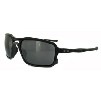 Oakley Sunglasses Triggerman OO9266-01 Matt Black Black Iridium