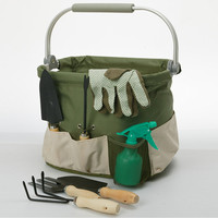 Foldaway Aluminum Framed Garden Tools Carry Bag