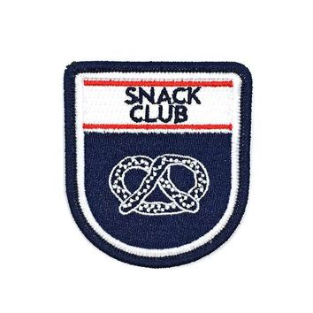 Snack Club Badge Patch