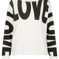 Love Sweat - Jersey Tops - Clothing - Topshop USA