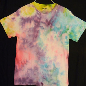 Pastel Rainbow Watercolor Tie Dye T-Shirt