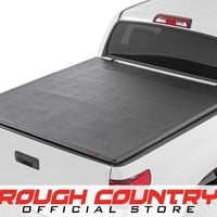 Toyota Tundra Soft Tri-Fold Tonneau Bed Cover (5.5-foot Bed) 2007 - 2013