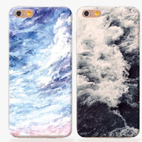 Raging Waves Iphone Case