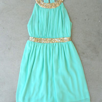 .Grecian Embrace Dress in Mint [5264] - $52.00 : Feminine, Bohemian, & Vintage Inspired Clothing at Affordable Prices, deloom