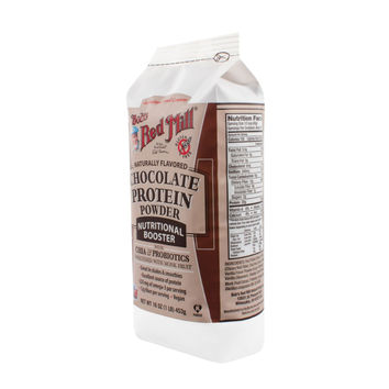 Bob's Red Mill Chocolate Protein Powder Nutritional Booster - 16 oz - Pack of 4