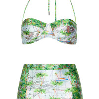 We Are Handsome - Bermuda High Waisted Bikini
