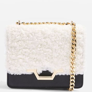KYLIE Borg Cross Body Bag
