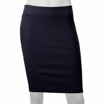 IZ Byer California Millennium Pencil Skirt - Juniors, Size: