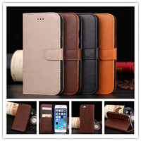 Luxury PU Leather Flip Case For Apple iphone 6 6g 4.7inch Phone Cover Cases With Wallet & Stand Function PY