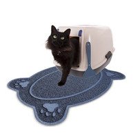 2016 New Cat Feeding Mat Best Litter Catcher to Trap & Control Scatter From Cat Box Bonus Pet Bowl Pet Dinner Rug And Carpet