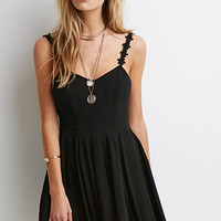 Crochet Cami Strap Dress