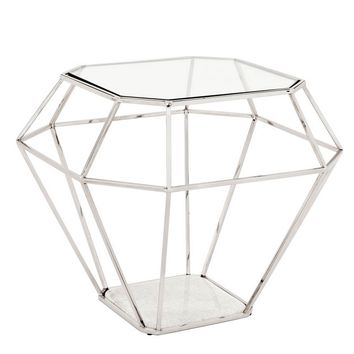 Eichholtz Asscher Side Table - Nickel