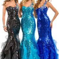 Party Time Gown 6012 Prom Dress - PromDressShop.com