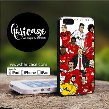 Manchester United Player iPhone 5 | 5S | SE Cases haricase.com