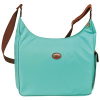 Hobo bag - Le Pliage - Handbags - Longchamp - Lagoon - Longchamp United-States