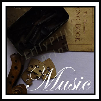 Musical Digital download, instant digital background, musical background,music photo scrapbooking page, journal page, 300 DPI JPEG A4 &12x12