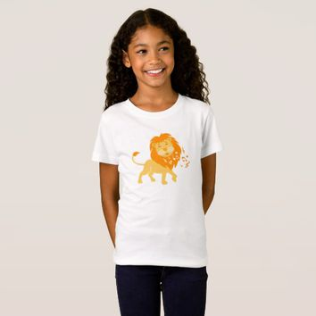 Adorable Lion Kids Shirt