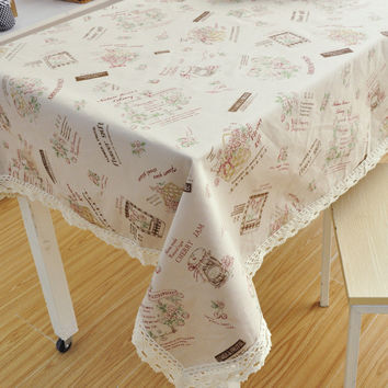 Home Decor Tablecloths [6283619206]