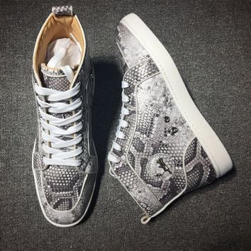 Christian Louboutin CL Style #2255 Sneakers Fashion Shoes Best Deal Online