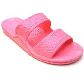 Pali Hawaii Sole Mate slide sandal in pink - ShopTheDocks.com
