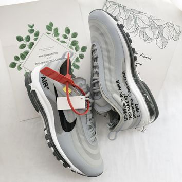 Nike Air Max 97 x OFF-WHITE Grey Sneaker