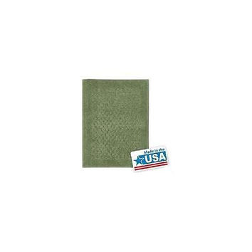 "Mohawk Home Woven Nylon Laguna Bath Rug 20"" X 34"" Green"