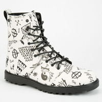 Volcom Go Figure Womens Boots White/Black  In Sizes
