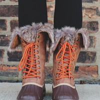 The Summit Boot - Cognac