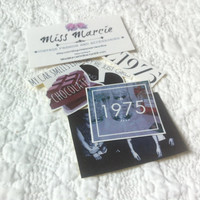 The 1975 band Matthew Healy fan sticker set of 5