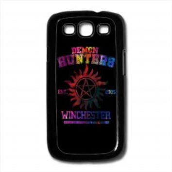 supernatural demon hunters galaxy for samsung galaxy s3 case