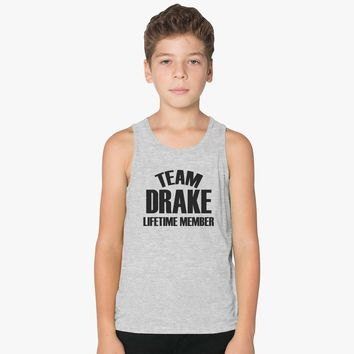 Team Drake Lifetime Member Kids Tank Top