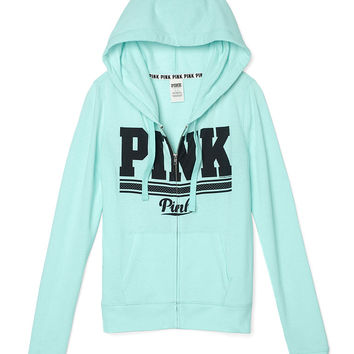 Perfect Full-Zip Hoodie - PINK - from VS PINK