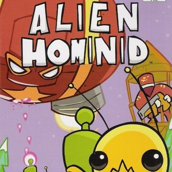Alien Hominid for the Playstation 2