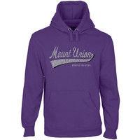 Mount Union Purple Raiders All-American Secondary Pullover Hoodie - Purple