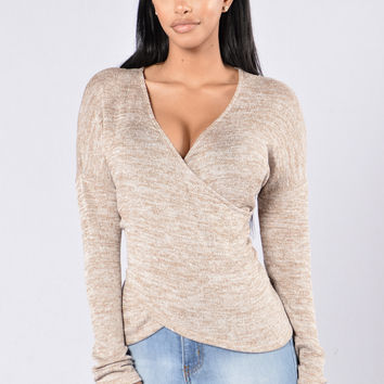 Fall Festival Top - Khaki