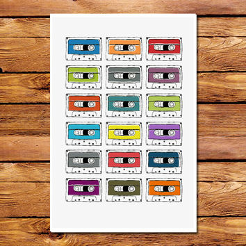 Mixed Tapes Poster